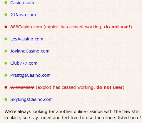 Martingale Roulette System Scam